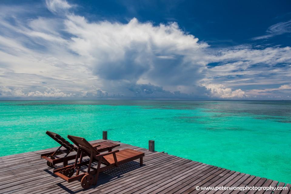 borneo-lankayan island - Deck chairs-4543