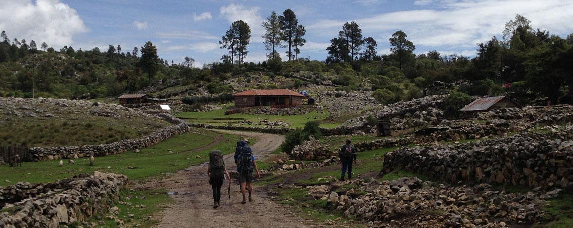 Trekking in Guatemala
