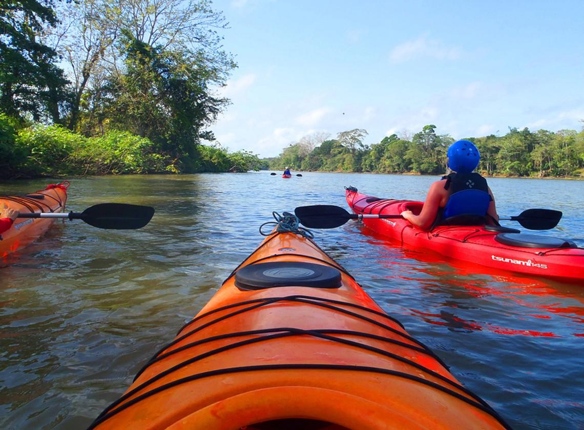 Nicaragua- Kayaking