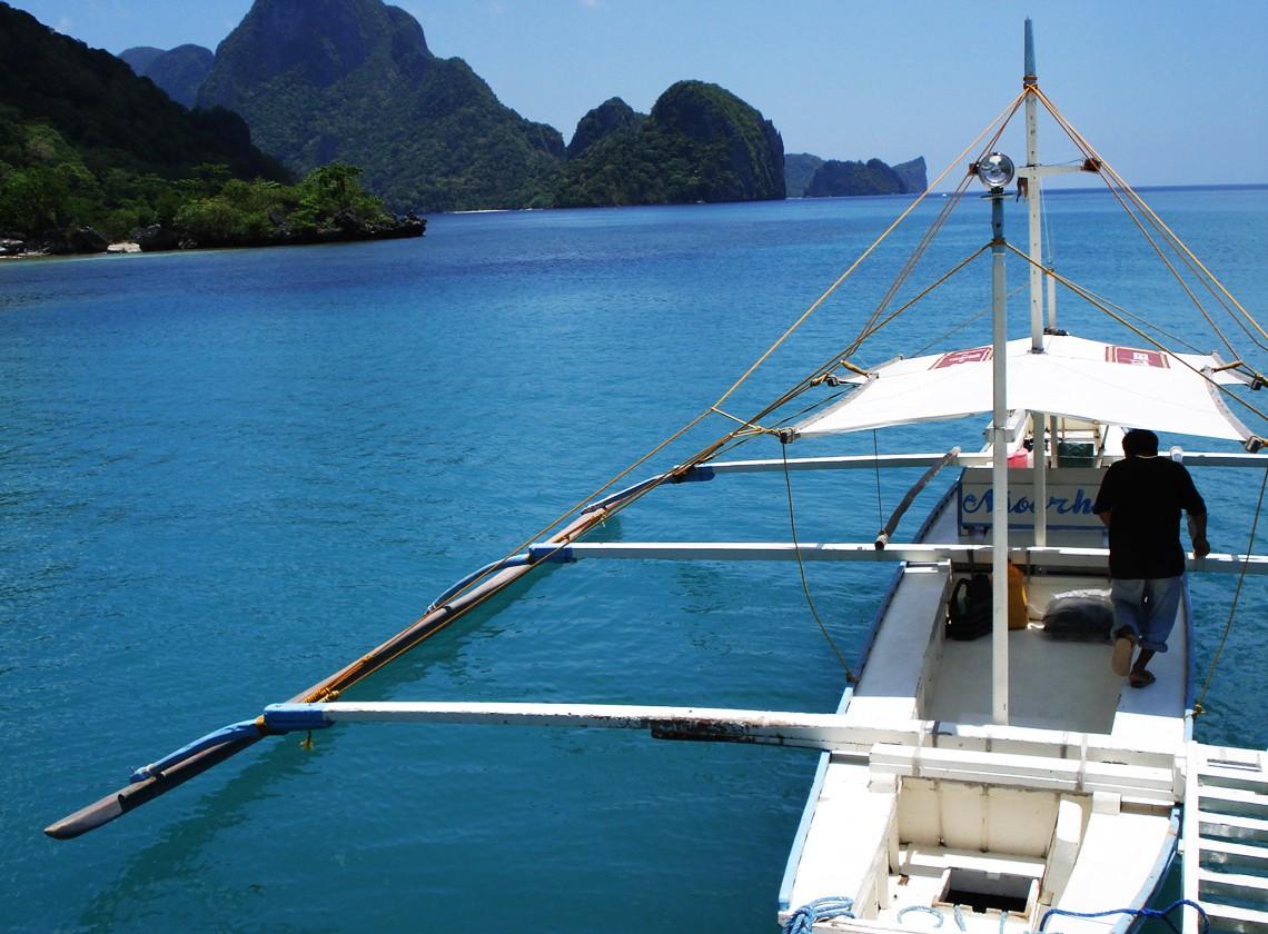 Philippines- Palawan- Boat